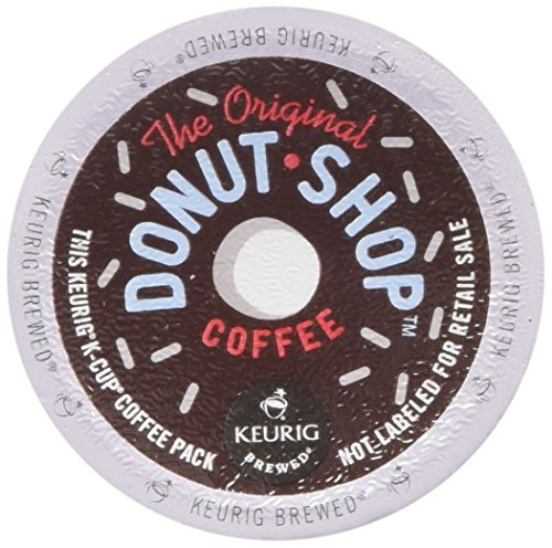 Donut Shop Classics Coffee People Donut Shop Medium Roast Extra Bold, 18-Count/0.39oz. K-Cups for Keurig Brewers