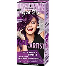 Got2b 094 Blueberry Lila Farb-Artist Haarfarbe, 3er Pack(3 x 80 ml)