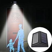 mamum Solar Power Wandleuchte Outdoor Garten Lampe Einheitsgröße B