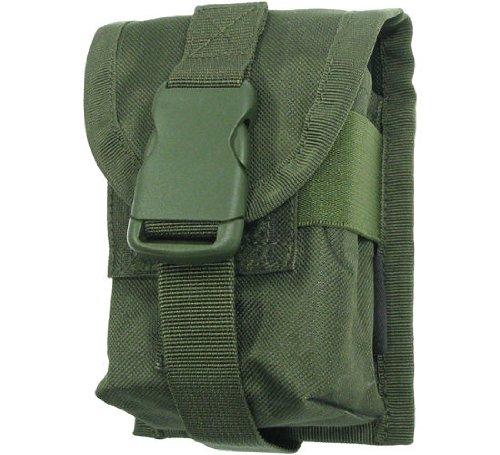BE-X Magazintasche 7,62mm für MOLLE, für zwei G3/M14/FAL Magazine - olive