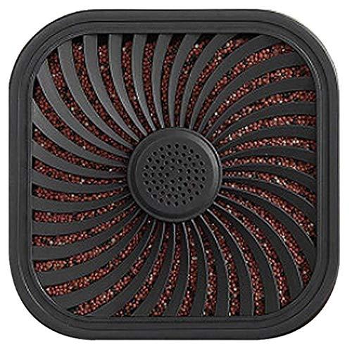 WOVELOT Deodorante per Auto Purificatore d'Aria per Auto Portatile Filtro Un Carbone Attivo Purificazione Depuratore d'Aria Odore Eliminatore Prova Deco Borsa per Carbone di bambù