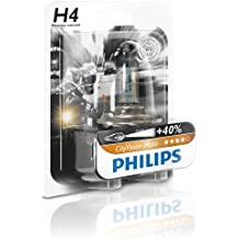 1er Blister Philips 12342CTVBW City Vision Moto H4 Motorrad-Scheinwerferlampe