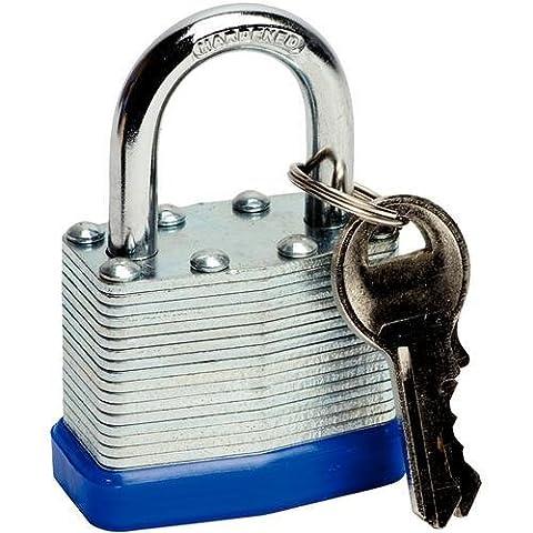 Deet TM711- 50mm PADLOCK. IDEAL FOR GARDEN SHED, TOOL BOX LOCK, GARAGE DOOR, GARDEN GATE ETC.