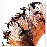 Charming Pet Products–ch77501l–Urlaub Party Halsband–Halloween spdrs und Fledermäuse–Schwarz und Orange–LRG