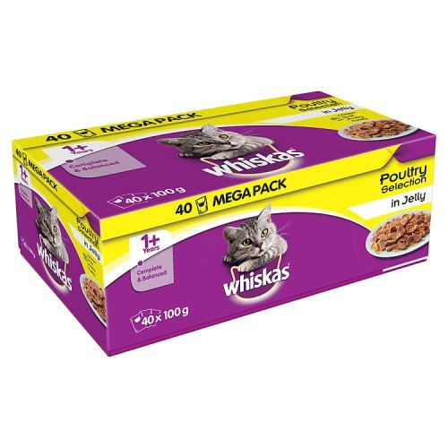 whiskas-1-years-cat-pouches-poultry-selection-in-jelly-40-x-100g