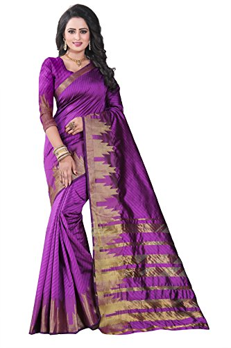 I-Brand Net Saree With Blouse Piece (ISUNSA_V_2695_Peach_Free Size)
