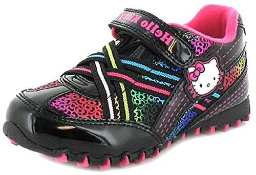 Hello Kitty Mädchen Regenbogen Schuhe für die Schule (27.5)
