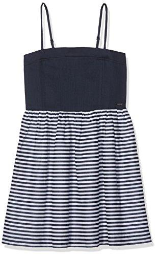 Tommy Hilfiger Mädchen DG THDG BASIC STRAPLESS DRESS 50 Kleid,,per pack Blau (Dress Blues  Preisvergleich