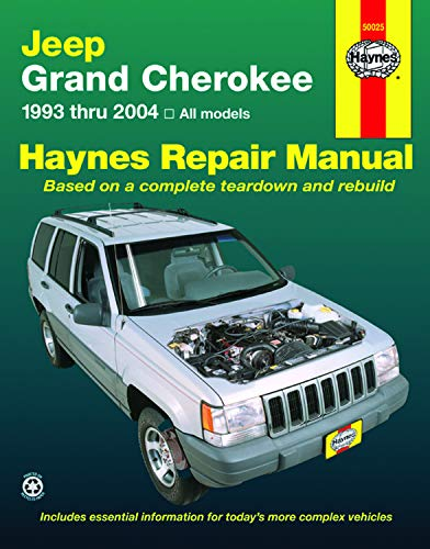 Jeep Grand Cherokee 1993 thru 2004: All Models (Haynes Manuals) (Motoren-reparatur-handbuch)