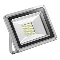 LED Floodlight, Outdoor Spotlight, Cold White, Waterproof IP65, AC 220V, Security Lights by Yuanline