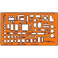 Standardgraph ST7342 - Mascherina geometrica per disegno tecnico, scala 1:100