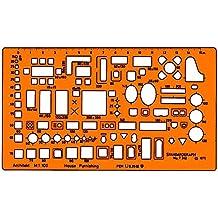 Standardgraph ST7342 - Möbelierungsschablone Architekt Maßstab 1:100