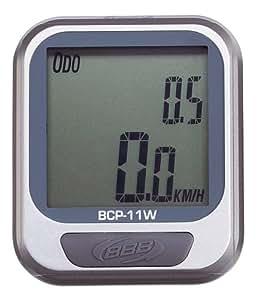 BBB compteur vélo DashBoard BCP-11W (Couleur: Argent) Compteur sans fil