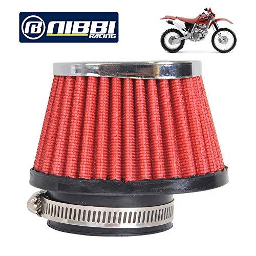 NIBBI RACING PARTS Motorcycle Air Filter High Performance Air Filter 55mm  Dirt Bike Air Filter Compatible with ATV SSR TTR Dirt Bike Pit Bike Mini