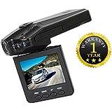 Intrudo Car DVR Dash Cam Driving Recorder Mini Portable 1080p HD Cam Compatible With Xiaomi, Lenovo, Apple, Samsung, Sony, Oppo, Gionee, Vivo Smartphones (One Year Warranty)
