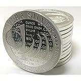 Zanzibar Vera Silver 2015 Max Secure QR Code Tanzania 1000 Shillings 1 OZ (31,1 gr.) Plata 999 Silver Coin Cápsula Moneda