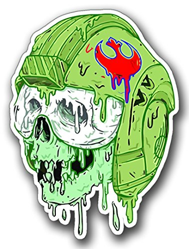 Preisvergleich Produktbild 4 x Melting Rebel Alliance Sticker for Skateboards, Snowboards, Scooters, BMX, Mountain Bikes, Laptops, iPhone, iPod, Guitars etc by ONEKOOL