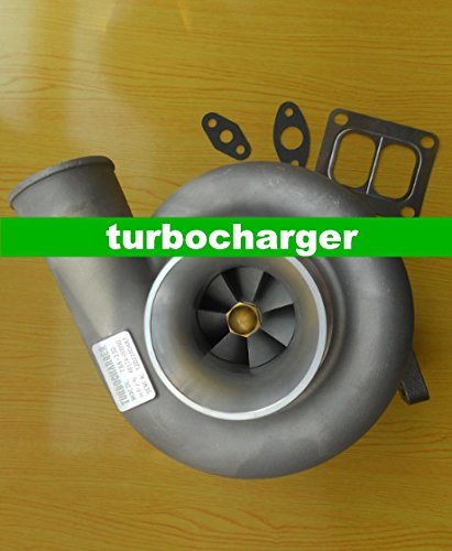 T4 Flansch Turbo (Gowe Turbolader für T88–33mm T4Flansch Öl Tagebuch Kugellager Externe Verwendung bei PKW und Motorrädern Turbo Turbine Turbolader 97mm V Band 700HP)