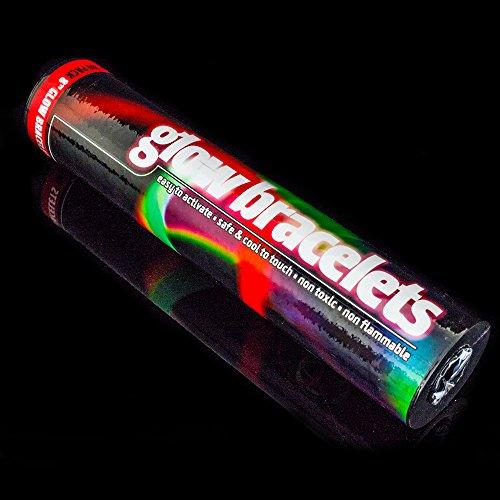 The Glowhouse Premium Glow Stick Bracelets (Mixed) 100 Pack