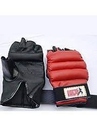 Grigio Healifty Guanti sportivi per Bodybuilding Manubri Fitness Bilanciere Palestra pesi Mezzi guanti
