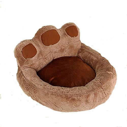 LNLW Bett for Metier Hunde Kleine Katzen-Haustier-Indoor-Welpen Orthopädische Kissen Homes Ducky Netter Kennel Hundematte Wurf Gebraucht Kaninchen Hamster Schwein (Farbe : Braun, Size : M)