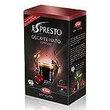 K-Fee Espresto Espresso Decaffeinato, Kaffee, koffeinfrei Arabica, Intensität 7, 16 Kapseln