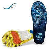 CURREX RunPro Sohle High Profile. Entdecke deine neue Dimension des Laufens. Performance Einlegesohle für Sport, Jogging, Running. Gr EU 47-49