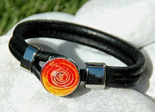 noosa-style-bracelet-popper-snap-charm-buttons-round-black-leather-ginger-snap-jewelry-one-button-in