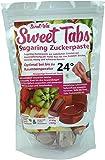 Sweet Tabs 24° Rot Brazilian Wax. Einfach auspacken, kneten und anwenden. Enthaarungswachs aus Sugaring Zuckerpaste zur Haarentfernung per Hand. Keine Vliesstreifen oder Erwärmen nötig. 8 * 45g =360g