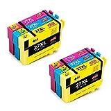 JIMIGO 27 XL 27XL Druckerpatronen Ersatz für Epson 27 Tintenpatronen Kompatibel mit Epson WorkForce WF-3620 WF-3640 WF-7610 WF-7620 WF-7110 WF-7720 WF-3620DWF WF-7620DTWF WF-7610DWF WF-3640DTWF