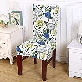 PLYY 1 pz Stretch Home Decor Dining Chair Cover per la copertura della sedia della festa nuziale Stretch rimovibile Elastico Fodera sedia coprisedili Cinque stili disponibili, style 4