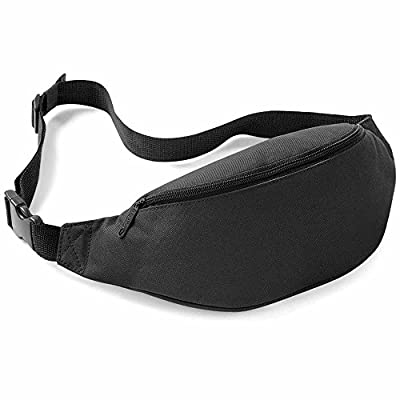 Bag Base - Sac banane - BG42 - mixte - coloris noir
