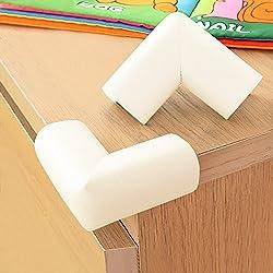 BABY MATE 12 PCS Home Safety NBR Foam Furniture Corner Cushion Protector (Beige