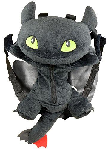 Dreamworks Dragon Trainer Sdentato Toothless 3D peluche Zaino, 60 cm