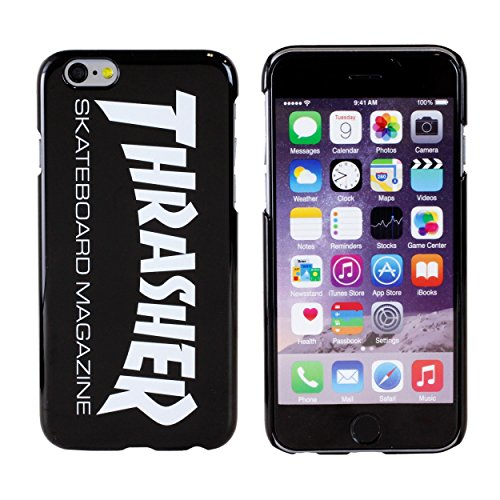[Original Retail Packaging]Thrasher Plastic Case for iPhone 6 / iPhone 6s (Black) Black