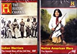 The History Channel : Native American Wars the Apache , Indian Warriors the Untold Story of the Civil War : 2 Pack Set