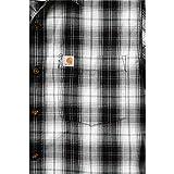 Carhartt Workwear Arbeitshemd Arbeitsshirt - Slim Fit Plaid Shirt - Schwarz (XL)