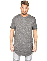 T-shirt oversize Sixth June chiné gris
