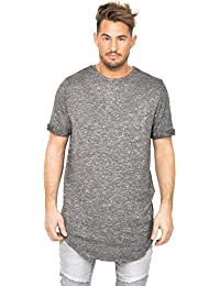 T-shirt oversize Sixth June chiné gris