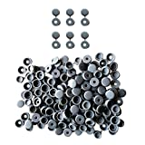 MagiDeal 100 Stück Schraubenabdeckkappen, Kunststoff Schrauben-Abdeckungen Abdeckkappen Für Auto Wohnmöbel - Grau