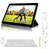 10 Pollici Tablet Con wifi Offerte, 3GB RAM +64GB ROM 4G Android 8.1 Espansione e Dual SIM Full HD PC, Portatili e Tablet WiFi / GPS / Bluetooth Tablet in offerta
