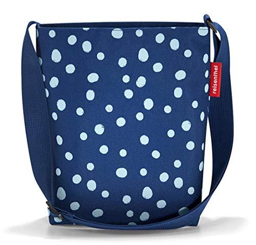 Reisenthel shoulderbag S Umhängetasche, Polyester, spots navy, 29 x 29 x 8 cm (S) - Navy Tasche