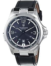 Victorinox Swiss Army Herren-Armbanduhr Analog Quarz Leder 241664