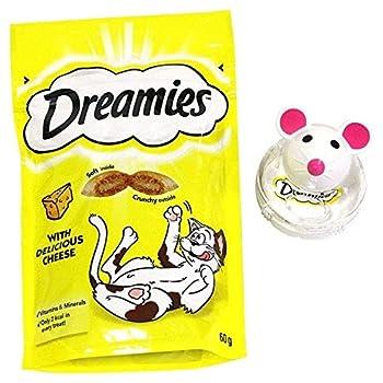 Dreamies Chat De La Souris Snacky Fromage Jouet 60G