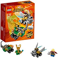 LEGO Super Heroes Thor Mighty Micros Loki, Multicolore, 76091