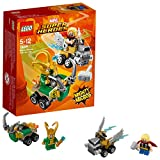 Lego Marvel Super Heroes - Mighty Micros : Thor contre Loki - 76091 - Jeu de Construction
