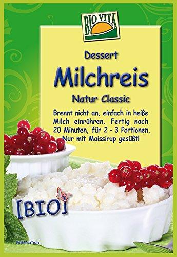 Preisvergleich Produktbild BIOVITA Milchreis Natur Classic,  10er Pack (10 x 115 g)