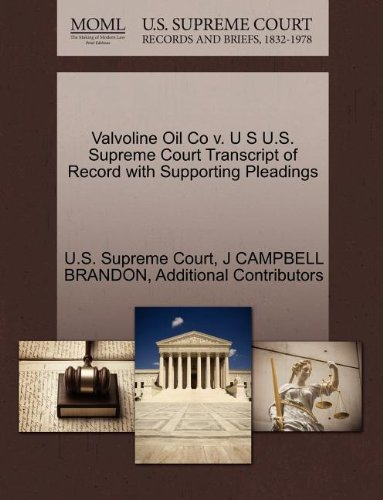 valvoline-oil-co-v-u-s-us-supreme-court-transcript-of-record-with-supporting-pleadings