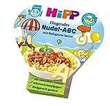 HiPP Kinder-Nudel-Spaß Fliegendes ABC in Bolognese-Sauce, 6er Pack (6 x 250 g)