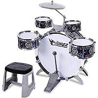 a881ba03d10f1 LIUFS-Tambor Los Tambores Infantiles Beat Toys Puzzle Music Enlightenment  (color   NEGRO-